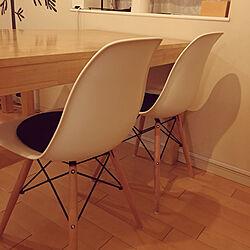 部屋全体/イームズチェアリプロダクト/IKEA/北欧/マンション暮らしのインテリア実例 - 2017-11-01 21:09:44