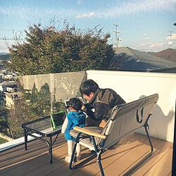リビング/景観/バルコニーからの景色/木ら楽/リクシル...などのインテリア実例 - 2018-10-31 21:37:23
