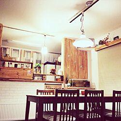 キッチン/DIY/手作り/植物/照明...などのインテリア実例 - 2014-02-10 23:09:24