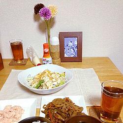白い食器は100均/ニッセン家具/キッチンのインテリア実例 - 2020-04-16 13:35:23