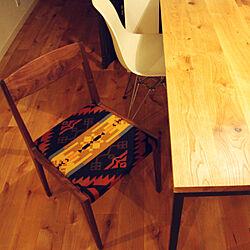 無垢の床/ペンドルトン/宮崎椅子/レトロ/イームズチェア...などのインテリア実例 - 2018-03-26 15:30:06