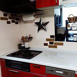 キッチン/DIY/お掃除しやすく/セリア/シンプルのインテリア実例 - 2015-05-26 18:01:50