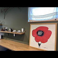 ティーカップ/アラビア/アートのある暮らし/山口一郎さんのポスター/山口一郎さんの絵...などのインテリア実例 - 2020-06-05 11:20:19
