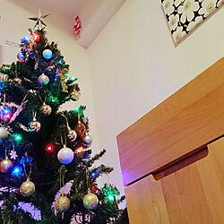リビング/クリスマス/クリスマス雑貨/クリスマスツリー/ニトリ...などのインテリア実例 - 2018-11-28 20:53:06