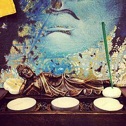 Candle/flower/bali/Buddha のインテリア実例 - 2013-09-23 02:04:45
