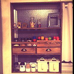 キッチン/見せる収納/DIY/調味料ラック/DIY 棚のインテリア実例 - 2013-02-05 01:56:29