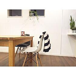 IKEAがたくさん♪/イケア/ブランケット/ボーダー/シェルチェア...などのインテリア実例 - 2016-01-13 23:44:47