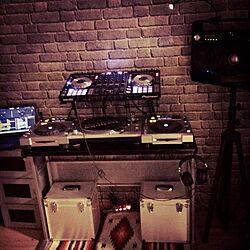 机/オタク部屋/DJ ブース/男前/walpa...などのインテリア実例 - 2014-04-20 10:51:38