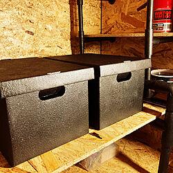 ワトコオイル/収納ボックス/DIY/塩ビパイプ棚/押入れ改造...などのインテリア実例 - 2020-07-14 04:20:47