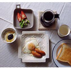 机/カフェ風/おうちカフェ/リネン/リネンコースター...などのインテリア実例 - 2014-08-13 08:21:24