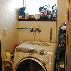 バス/トイレ/ダウニー/洗剤/ドラム式洗濯機のインテリア実例 - 2013-07-22 18:14:31