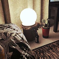 ベッド周り/IKEA/一人暮らし/多肉植物/観葉植物...などのインテリア実例 - 2018-01-17 00:02:14