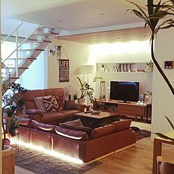 部屋全体/無垢材の床/無垢材天井/IKEA/タペストリー...などのインテリア実例 - 2017-02-20 08:01:59