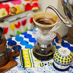机/coffee/ツェラミカアルティスティッチナ/Kalita コーヒーミル/kalita...などのインテリア実例 - 2015-03-02 00:55:38