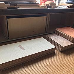 DIY/インダストリアル/ヴィンテージ風/コンパネ/和室リメイク...などのインテリア実例 - 2021-07-24 09:16:06