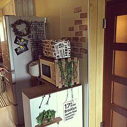 キッチン/100均/ダイソー/DIY/団地...などのインテリア実例 - 2016-06-19 10:41:30
