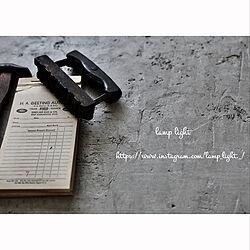アンティーク/アンティークのある暮らし/ハンドメイド/DIY/コンクリート...などのインテリア実例 - 2020-08-11 19:34:43