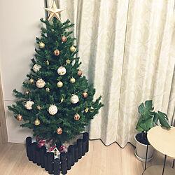 部屋全体/クリスマスツリー150cm/スタジオクリップ/ニトリ/クリスマスディスプレイ...などのインテリア実例 - 2017-11-06 17:06:06