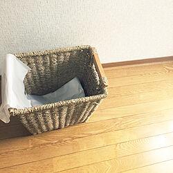 リビング/ゴミ箱/シンプルライフ/シンプル/綺麗にしたいのインテリア実例 - 2017-09-07 08:09:56