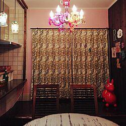 部屋全体/壁ペイント/ピンク/広島好きじゃけん会♡/カラフル好き...などのインテリア実例 - 2014-11-02 00:01:36