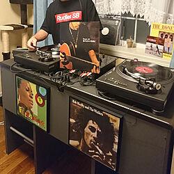 リビング/DJブース/アメリカンハウス/レコード/ターンテーブルのインテリア実例 - 2019-03-21 11:23:36