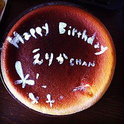 机/料理/ケーキ/誕生日ケーキのインテリア実例 - 2013-02-03 22:07:08