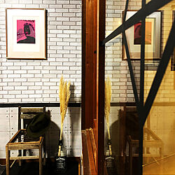 Tarzan/横尾忠則/古い椅子のリメイク/アートギャラリー/レトロ好き♪...などのインテリア実例 - 2020-10-12 20:14:16