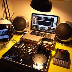 机/Mac/PC/DJブース/家電...などのインテリア実例 - 2012-06-28 22:00:23
