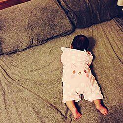 ベッド周り/無印良品ベッド/無印良品 枕カバー/無印良品のインテリア実例 - 2013-12-11 18:14:23