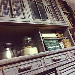 キッチン/食器棚リメイク/塗り替えのインテリア実例 - 2017-05-19 20:06:40