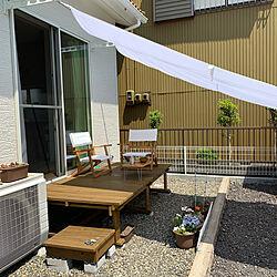 縁側ウッドデッキ/DIY/ニトリ/IKEAのインテリア実例 - 2020-05-02 13:11:46