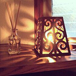 玄関/入り口/アロマディフューザー/アロマグッズ/テーブルランプ/関節照明のインテリア実例 - 2012-11-15 08:10:50
