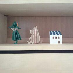 棚/一人暮らし/北欧/seria/木製家具...などのインテリア実例 - 2016-12-04 10:49:16