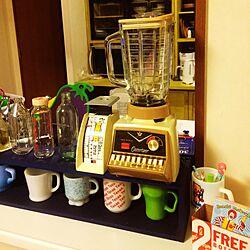 キッチン/オスタライザー/ファイヤーキング/オールドパイレックスのインテリア実例 - 2015-11-21 22:52:00