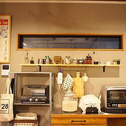 キッチン/IKEA/DIY/セリア/100均...などのインテリア実例 - 2019-02-18 11:24:48