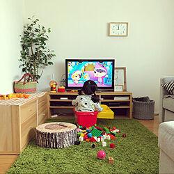 マンション暮らし/横長リビングダイニング/こどものいる暮らし/IKEA/収納...などのインテリア実例 - 2020-04-23 12:00:51