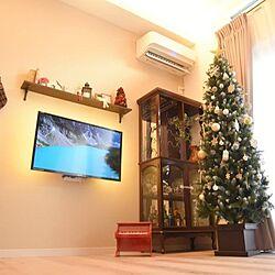 クリスマスツリー/クリスマスツリー210㎝/リビングのインテリア実例 - 2020-11-24 15:50:36