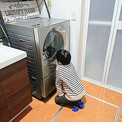バス/トイレ/Panasonic/ドラム式洗濯機/Cuble/NA-VG2400...などのインテリア実例 - 2020-02-27 15:46:56
