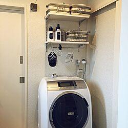 バス/トイレ/3COINS/無印良品/モノトーンのインテリア実例 - 2016-08-28 13:30:19