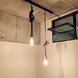 白熱電球/電球/照明/打ちっぱなし/1LDK...などのインテリア実例 - 2021-07-06 14:14:52