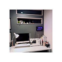 ニトリ デスク/ニトリ デスクライト/ワークデスク/一番好きな場所/2階フリースペース...などのインテリア実例 - 2020-05-05 23:12:41