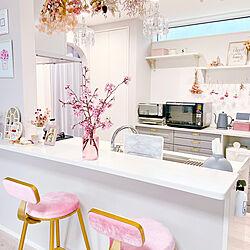 IKEA/カウンターキッチン/LIXILキッチン/LIXIL/おうち花見...などのインテリア実例 - 2021-04-10 09:42:08