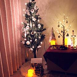 クリスマス/棚/大人クリスマス/ニトリ/クリスマスツリー...などのインテリア実例 - 2018-11-12 20:22:16