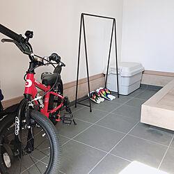 ケルヒャーで掃除しました/L字の土間/傘かけ/自転車/こどものいる暮らし...などのインテリア実例 - 2020-06-21 17:46:09