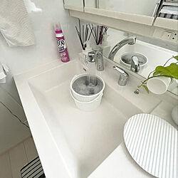 つけ置き洗い/ワイドハイタークリアヒーロー/除菌/室内干し/部屋干し...などのインテリア実例 - 2021-04-25 09:00:30