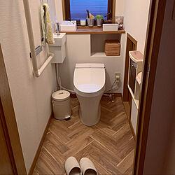 meets/無印良品/after/タンクレストイレ/サティスS...などのインテリア実例 - 2021-06-06 05:17:03