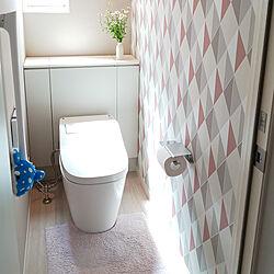 バス/トイレ/壁紙/アクセントクロス/イベント/トイレ...などのインテリア実例 - 2021-08-08 11:38:38