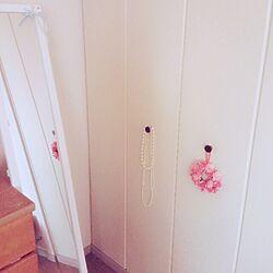 部屋全体/クローゼット/全身ミラーのインテリア実例 - 2015-02-04 20:42:15