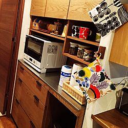 キッチン/unico/キッチンボード/マイホーム/ナチュラル...などのインテリア実例 - 2017-06-06 18:35:32