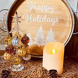 クリスマスツリー/ツリー/クリスマス/雑貨/ナチュラル...などのインテリア実例 - 2019-11-19 21:13:02